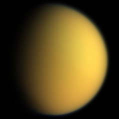 Titan, the largest moon of Saturn